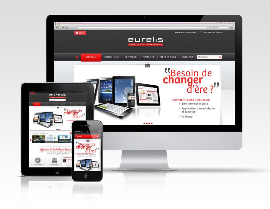 Eurelis web site