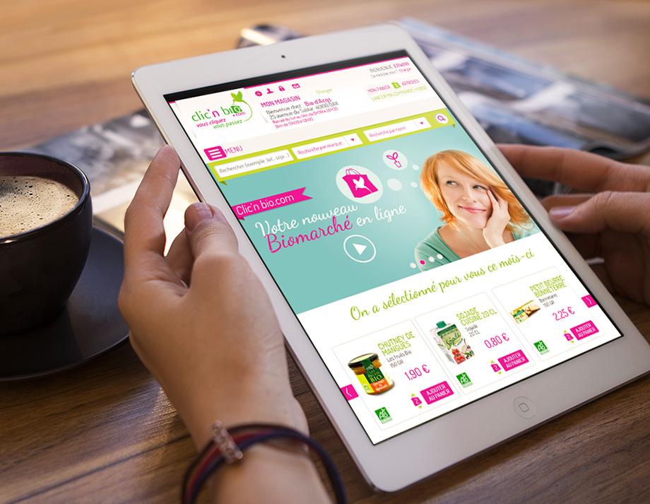 Clic'nBio  E-commerce